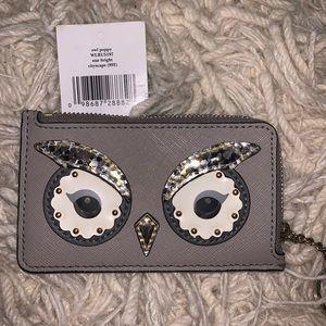 CUTE Kate Spade Owl Poppy Keychain